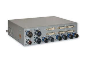 Rugged 2 Channel KVM Switch