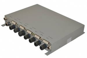 Rugged 4 Channel KVM Switch
